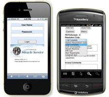 iPhone & Blackberry